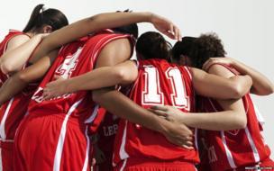 Lebanon basketball team by Brigitte Lacombe