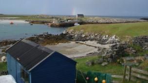 Scarinish Harbour, Isle of Tiree