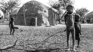 Village in Okangwati, Kunene Province, Namibia