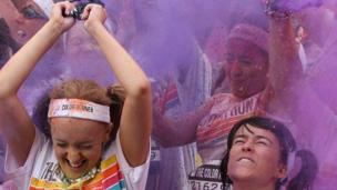 Belfast's 'Color Run'