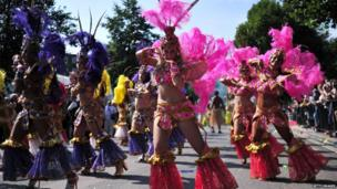 Carnival performers