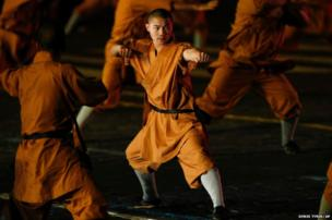 Monks of Shaolin