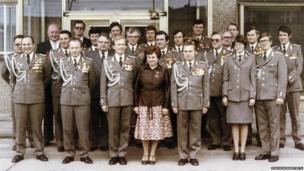 Stasi personnel in Berlin