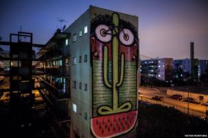 Graffiti in Sao Paulo