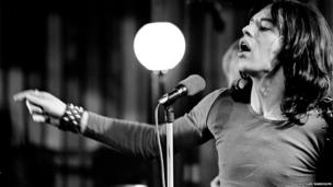 Mick Jagger at The Rolling Stones Rock and Roll Circus