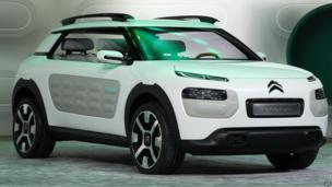 Citroen Cactus concept car