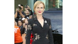 Nicole Kidman arrives for the film premiere of The Railway Man