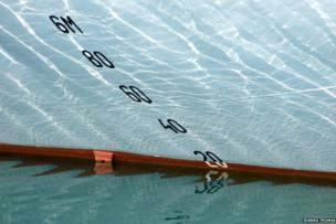 Numbers on the hull of a boat