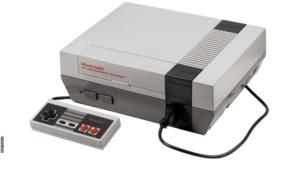 A Nintendo Entertainment System
