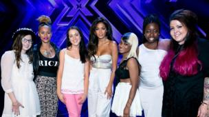 Nicole and the final 6 girls
