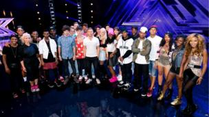 Gary Barlow and the final 6 groups