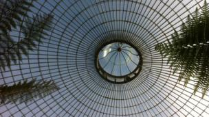Roof of the Kibble Palace
