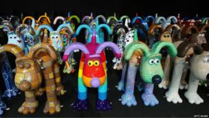 The collection of Gromits