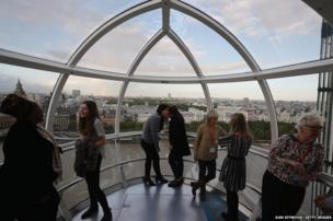 Women's mentoring event on the London Eye