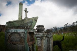 Cemetery in Pasto, Narino