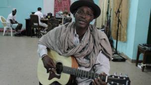 Afel Boucum. Photo taken by Manuel Toledo, BBC Africa