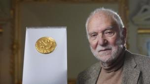 The sculptor designed the gold Olympic UK Kilo coin for the Royal Mint