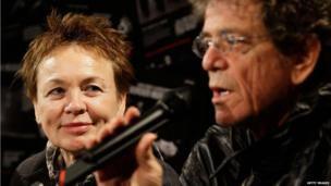 Lou Reed and Laurie Anderson in 2010