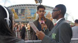 We also grabbed an interview with Jordan from Rizzle Kicks who told us that he wanted to be a footballer when he was a teen, but 'laziness' got in the way so he became a musician!