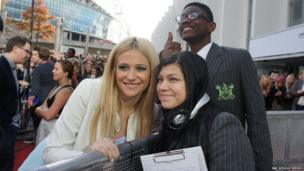 Pixie Lott and School Reporters