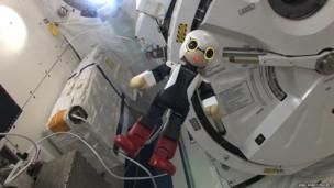 Kirobo on the International Space Station