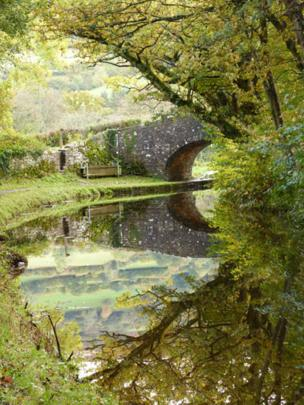Reflections on the Monmouthshire and Brecon Canal