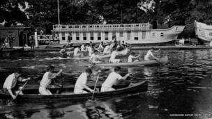 Oxford student boat races, Eights, c.1925