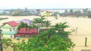 Flooding. Photo: Dr Edward Preston
