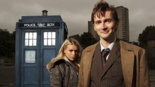 David Tennant and Billie Piper