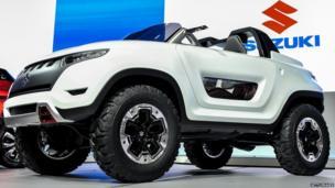 Suzuki X-Lander concept vehicle