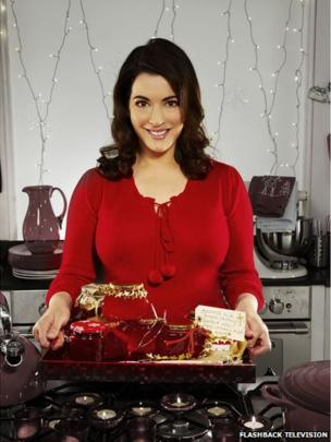 Picture from Nigella's Christmas Kitchen from 2008