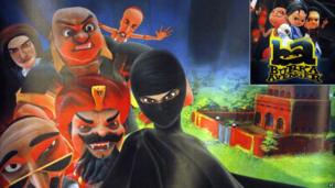 Burka Avenger is a new super hero who took Pakistan by storm.