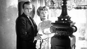 Joan Fontaine and Bing Crosby in The Emperor Waltz