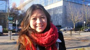 Axelle, a student in Champs-dur-Marne