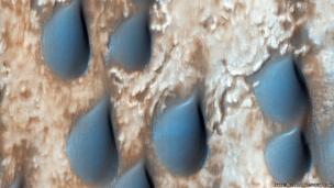 Dunes in Copernicus Crater