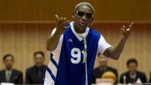 Dennis Rodman sings Happy Birthday to North Korean leader Kim Jong Un