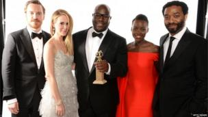 Cast of 12 Years a Slave and director Steve McQueen
