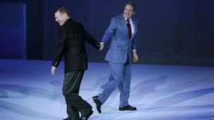Alan Mulally and Bill Ford