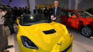 Tadge Juechter and the Chevrolet Corvette Stingray
