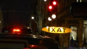 Taxi reflection