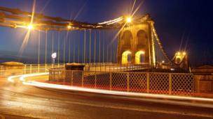 The Menai Bridge,