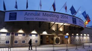 The congress centre for the annual meeting of the World Economic Forum