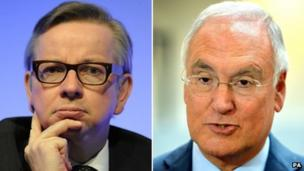 Michael Gove and Sir Michael Wilshaw