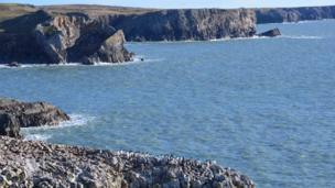 Stack Rocks, Pembrokeshire