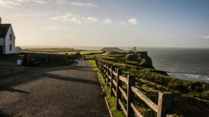 Worms Head at Rhossili