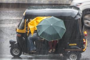 Indian auto rickshaws