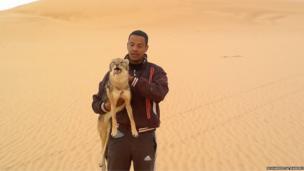 Mohammed Al Maskini in Tripoli in Libya