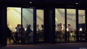 Beachfront cafe in Littlehampton, Sussex