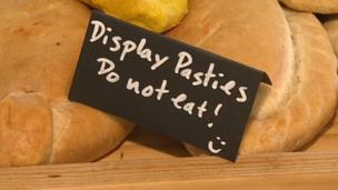 Pasties at the Eden Project