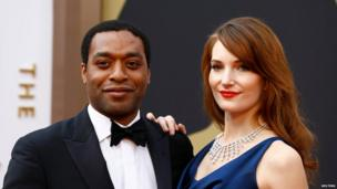 Chiwetel Ejiofor and his girlfriend Sari Mercer